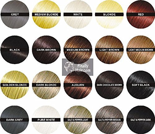 Hair Building Fibers 57 Grams. Highest Grade Refill That You Can Use for Your Bottles From Competitors Like Toppik, Xfusion, Dexe (Medium Salt & Pepper (Dark Chocolate Brown Salt Highlights))
