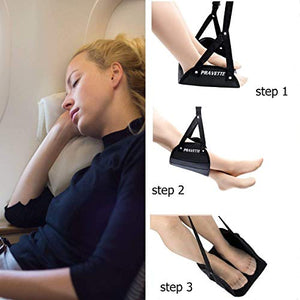 PRAVETTE Foot Hammock for Airplane - Try Adventure Shop