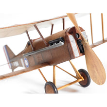 Load image into Gallery viewer, RAF SE5a WWI Bi-plane model airplane - Try Adventure Shop
