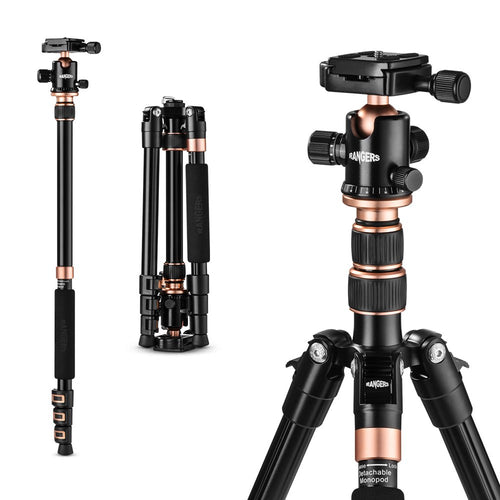 Travel Tripod with 1/4