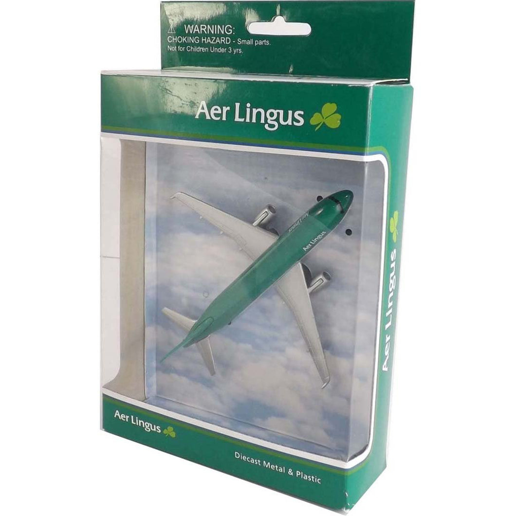 AL76340 Aer Lingus Airbus A320 Toy Plane - Try Adventure Shop