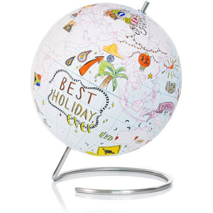 Suck UK - Mini Globe Pin Point Travels Adventure & Memories Included - Try Adventure Shop