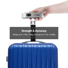 Load image into Gallery viewer, Etekcity Digital Travel Scales for Suitcases and Bags, 50KG, 2 Year Warranty, 2 Pack - Try Adventure Shop