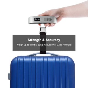 Etekcity Digital Travel Scales for Suitcases and Bags, 50KG, 2 Year Warranty, 2 Pack - Try Adventure Shop