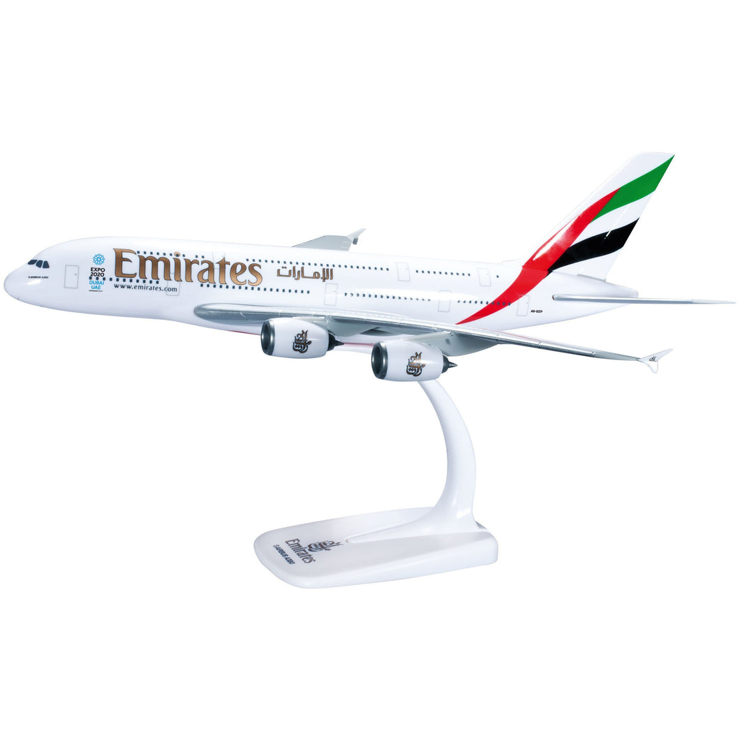 Herpa 607018 - Emirates Airbus A380-800 - Try Adventure Shop