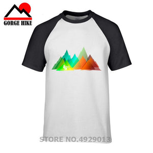 Colorful T-shirt Craving Wanderlust - Try Adventure Shop