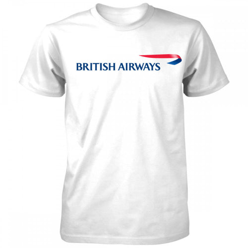 BRITISH AIRWAYS Airlines Travel T-shirt - Try Adventure Shop