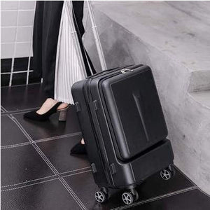 "Travel Suitcase Can board front computer bag High quality business 20""  24""Rolling - Try Adventure Shop"
