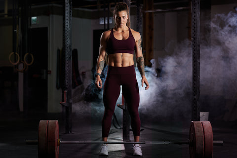 The Earned Athletic Keeping It Real Collection by Tammi Robinson (Maroon)
