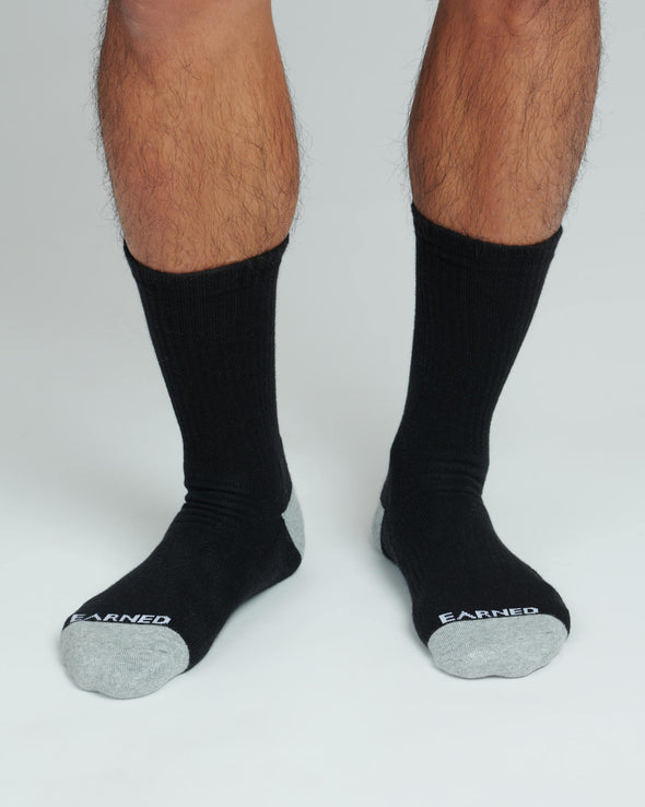 EARNED CREW SOCKS
