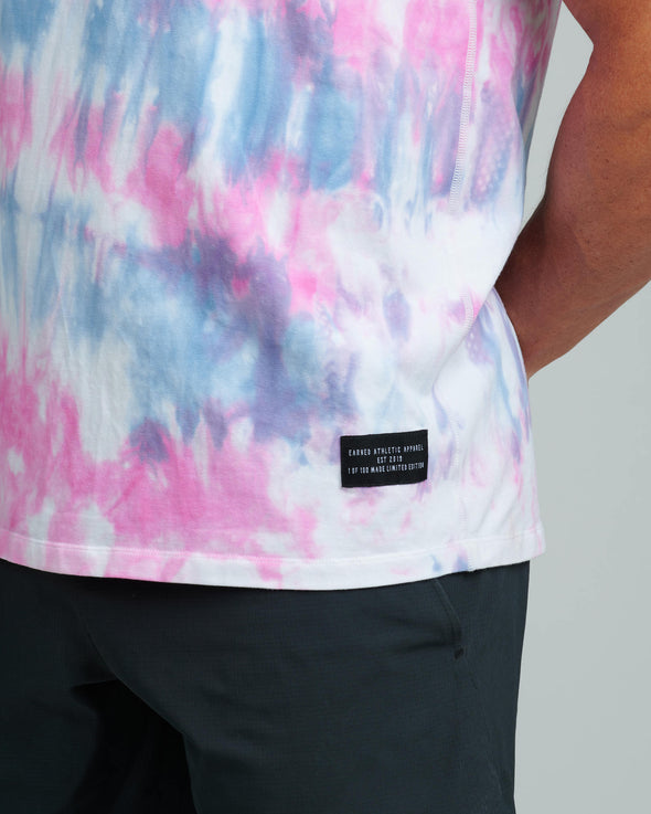 TIE-DYE EARNED MOVEMENT TANK