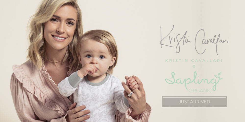 kristin cavallari for sapling organic cotton collection baby kids