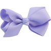Lilac Kids Bow Hair Clip