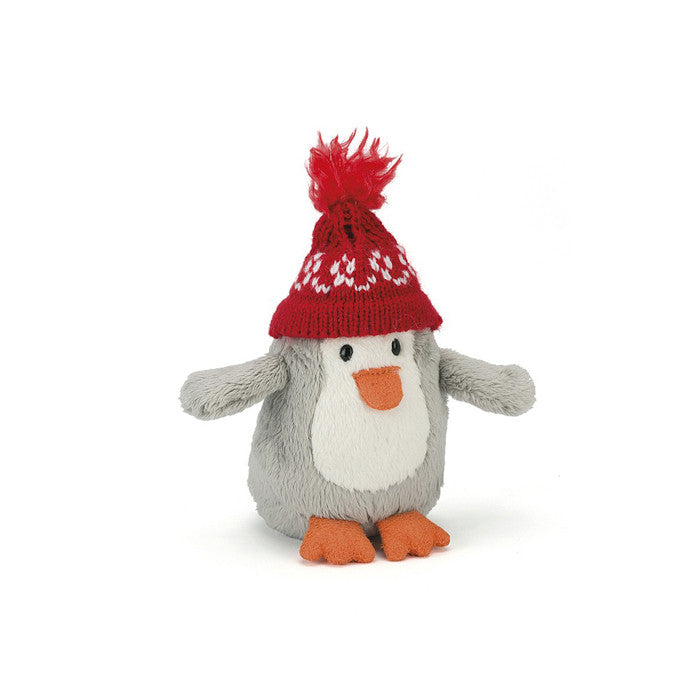 Bobble Penguin Red