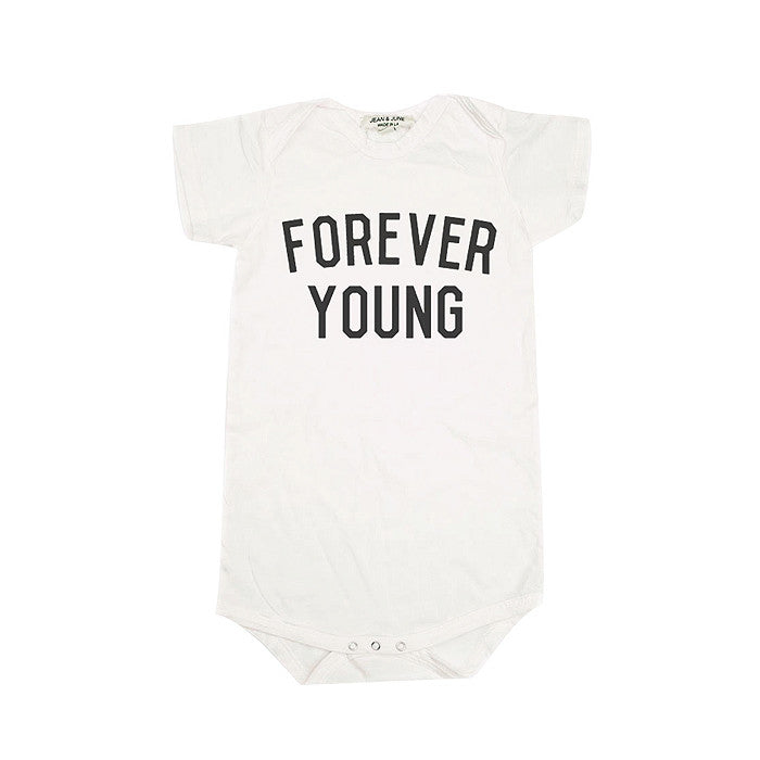 Forever Young Short Sleeve Bodysuit