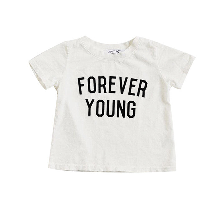 Forever Young Short Sleeve Tee