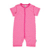 Polka Dots Pink Rompersuit