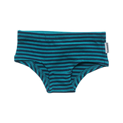Blue Striped Hipster Brief