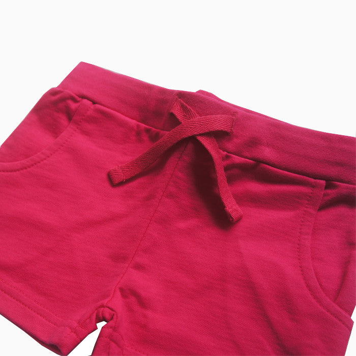 Hot Pink Basic Shorts