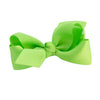 Lime Green Kids Bow Hair Clip