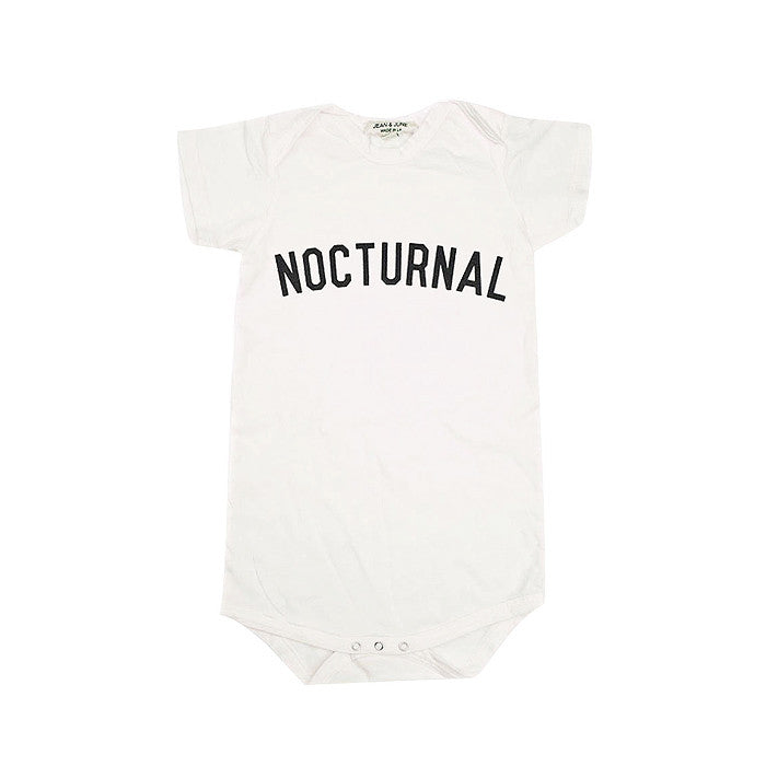 Nocturnal Short Sleeve Bodysuit