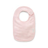 Essentials Organic Bib in Pale Pink Melange