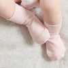 3 Sock Pack in Pale Pink