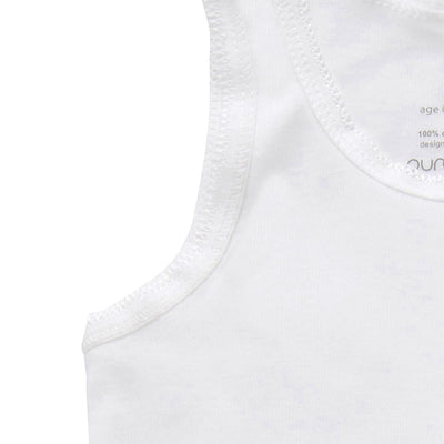 Essentials 2-Pack Rib Singlet White