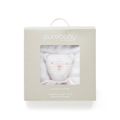 Gift Set - Swaddle and Comforter Pack in Pink
