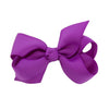 Retro Purple Kids Bow Hair Clip