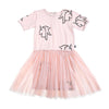 anarkid organic baby girl unicorn tulle tutu dress