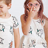 anarkid child baby kid organic cotton tee dress
