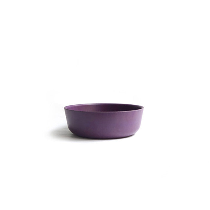 Bamboo Kids Bowl in Prune Purple