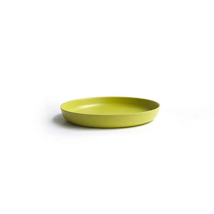 Bamboo Kids Small Plate in Lime Green