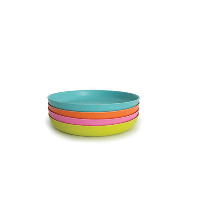 Bamboo Kids Small Plate in Rose Pink