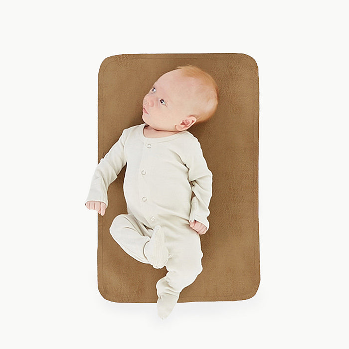 gathre micro leather mat tannin baby