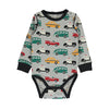 Traffic Organic Long Sleeve Bodysuit