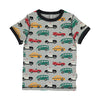 maxomorra kids traffic short sleeve top
