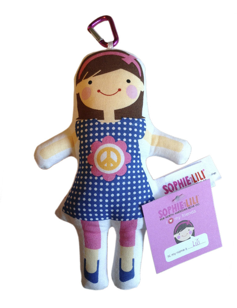 Mini Lili Play Doll Keychain