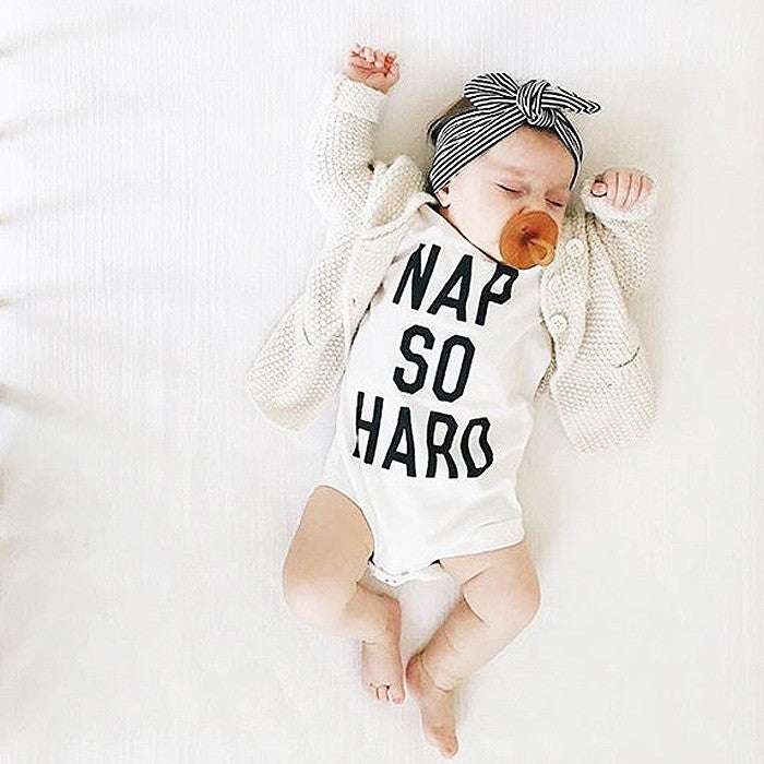 Nap So Hard Short Sleeve Bodysuit