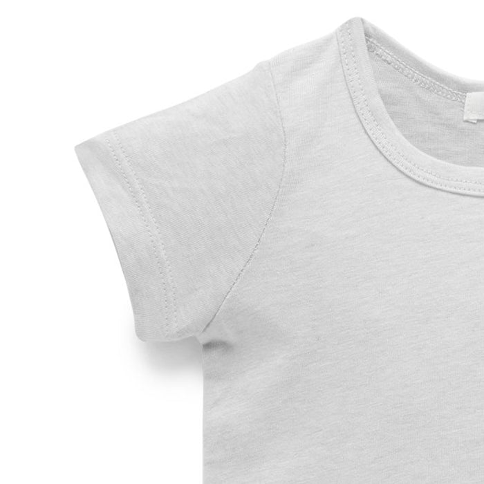 purebaby essential newborn tee baby top