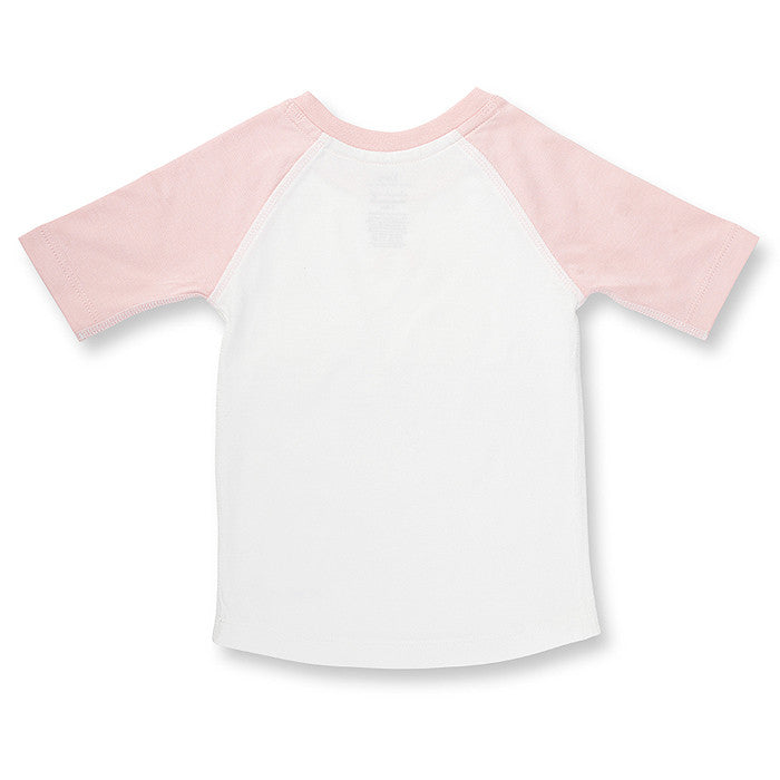Blushing Rose Raglan Tee