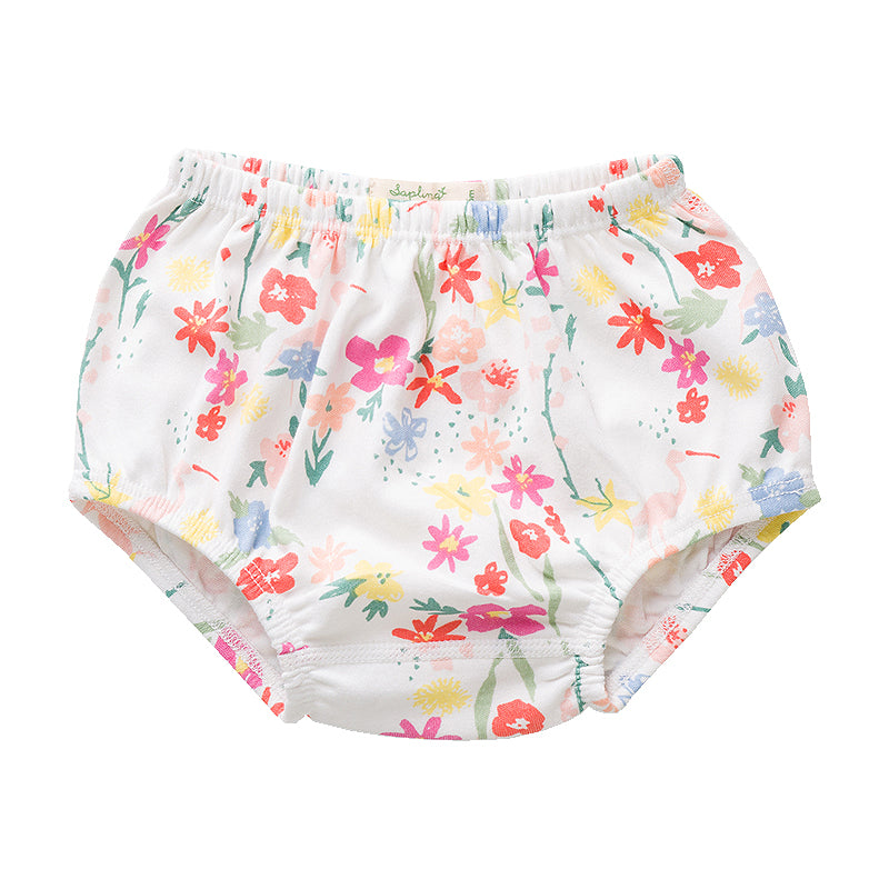 Floral Flamingo Bloomer
