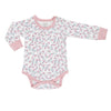 Full Bloom Organic Cotton Long Sleeve Bodysuit