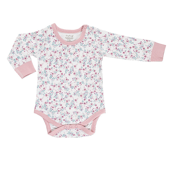 Full Bloom Organic Long Sleeve Bodysuit