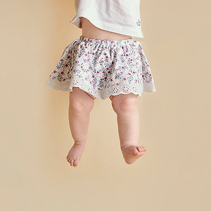 Full Bloom Organic Cotton Skirt Bloomers