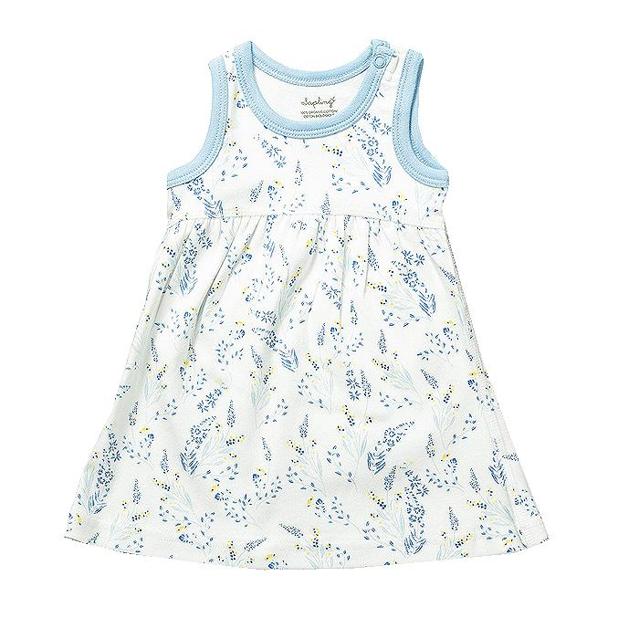 sapling baby meadow organic cotton dress