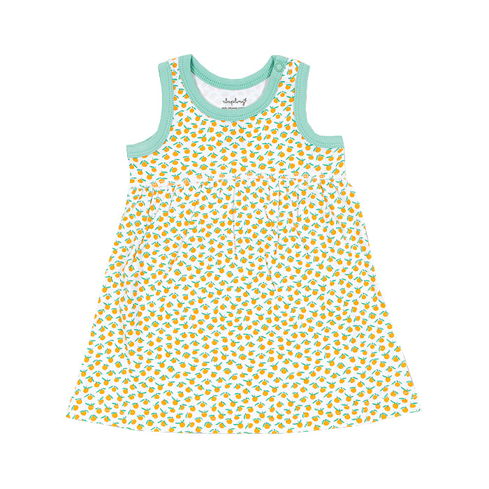 sapling baby organic cotton clothes clementine dress