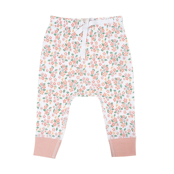 sapling baby organic cotton clothes pear blossom pants