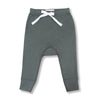 sapling baby organic cotton clothes pebble grey pants